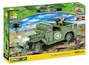 COBI SMALL ARMY 2368  M3 SCOUT CAR TRANSPORTER US